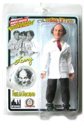 "The Three Stooges: Fuelin' Around Larry 8"" retro-style action figure"