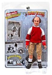 "Three Stooges: No Census No Feeling Larry 8"" retro-style action figure"