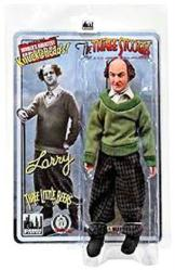"Three Stooges: Three Little Beers Larry 8"" retro-style action figure"
