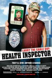 Larry the Cable Guy: Health Inspector movie poster (2006) 27x40