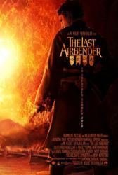 The Last Airbender movie poster [Dev Patel as Prince Zuko] 2010