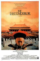 The Last Emperor movie poster [a Bernardo Bertolucci film] 26'' X 38''