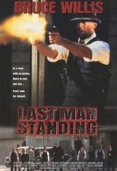 Last Man Standing movie poster [Bruce Willis] 27x40 video poster