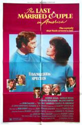 Last Married Couple In America movie poster /George Segal/Natalie Wood