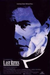 Last Rites movie poster [Tom Berenger, Daphne Zuniga] original 27x40