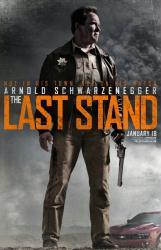 The Last Stand movie poster [Arnold Schwarzenegger] 27x40 advance