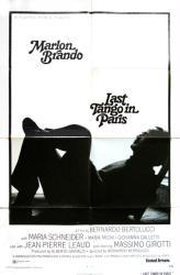 Last Tango in Paris movie poster [Marlon Brando] 27x41 original