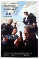 The Last of the Finest movie poster [Brian Dennehy, Jeff Fahey] 27x41