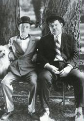 Laurel and Hardy poster (27x38) Stan Laurel & Oliver Hardy