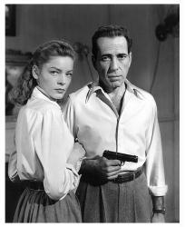Lauren Bacall & Humphrey Bogart print (26x32) Fine Art Reproduction