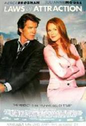 Laws of Attraction movie poster [Pierce Brosnan, Julianne Moore] 27x40