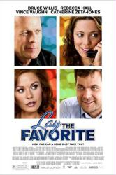Lay the Favorite movie poster [Bruce Willis, Rebecca Hall] 27x40