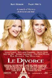 Le Divorce movie poster [Kate Hudson, Naomi Watts] 27x40 original NM