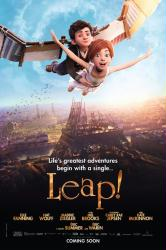 Leap! movie poster (2017 animated film) original 27x40 advance