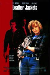 Leather Jackets movie poster [Bridget Fonda/D.B. Sweeney/Cary Elwes]