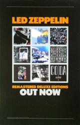 Led Zeppelin poster: Remastered Deluxe Editions Discography (11x17)