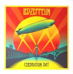 Led Zeppelin poster: Celebration Day vintage LP/Album flat (2012)