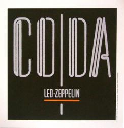 Led Zeppelin poster: Coda vintage LP/Album flat