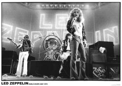 Led Zeppelin poster: Earls Court, May 1975 (33'' X 23 1/2'')
