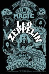 Led Zeppelin poster: Electric Magic concert poster (24x36)