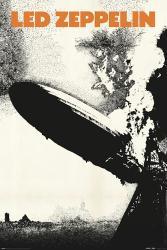 Led Zeppelin poster: Led Zeppelin I (24x36) 1st album art