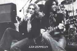 Led Zeppelin poster: Robert Plant and Jimmy Page (36x24)