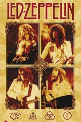 Led Zeppelin poster: Parchment (24'' X 36'') New