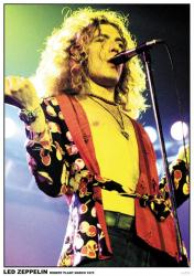 "Led Zeppelin poster: Robert Plant, March 1975 (23 1/2"" X 33"")"