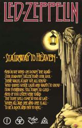 Led Zeppelin poster: Stairway to Heaven (24'' X 36'' Poster)