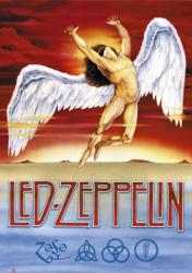 Led Zeppelin poster: Swan Song logo (24x36)