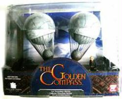 The Golden Compass: Lee Scoresby's Airship Miniature Diecast vehicle