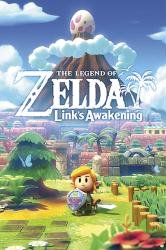 The Legend of Zelda: Link's Awakening poster (24x36) Nintendo art