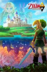 The Legend of Zelda: A Link Between Worlds video game poster (24x36)
