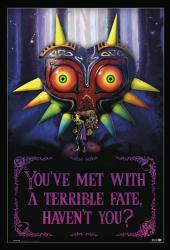 The Legend of Zelda poster: Terrible Fate (24x36) Nintendo