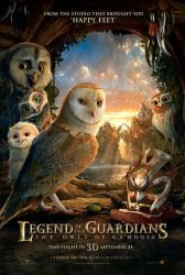Legend of the Guardians: The Owls of Ga'Hoole advance movie poster