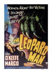 The Leopard Man movie poster [Dennis O'Keefe & Margo] 18 X 24