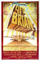 Life of Brian movie poster [Monty Python] original 27x41 one-sheet