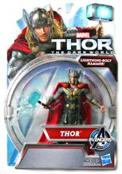 Thor The Dark World: Thor figure with Lightning-Bolt Hammer (Hasbro)