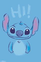 Lilo & Stitch poster: Hi (22x34) Stitch