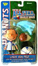 Peanuts You're An All-Star Charlie Brown: Linus Van Pelt action figure