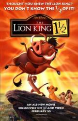 The Lion King 1 1/2 movie poster [Walt Disney] original 26x40