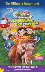 Little Einsteins: Animal Expedition video/DVD poster [Disney]