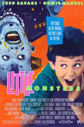 Little Monsters movie poster [Fred Savage/Howie Mandel] original 27x40