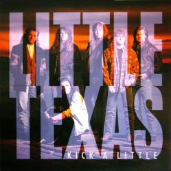 Little Texas poster: Kick A Little vintage LP/Album flat