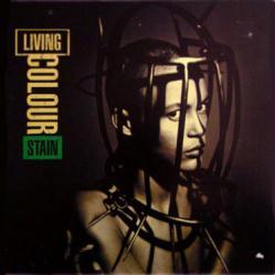 Living Colour poster: Stain vintage LP/Album flat