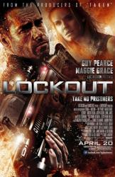 Lockout movie poster [Guy Pearce & Maggie Grace] 2012 one-sheet