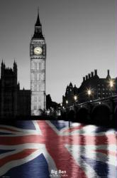 Big Ben poster: London, England (24x36) Tanya Chalkin