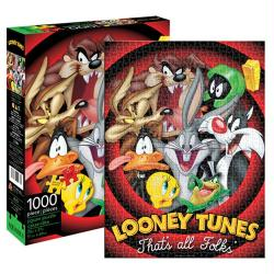 Looney Tunes jigsaw puzzle: That's All Folks (Aquarius) 1000 piece