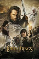 The Lord of the Rings: Return of the King movie poster (24'' X 36'')