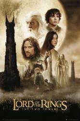 The Lord of the Rings: The Two Towers movie poster (24x36) Tolkien